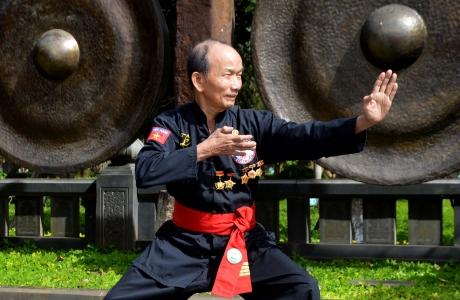 Đại võ sư Lê Ngọc Có: Một đời tận tâm với nghề