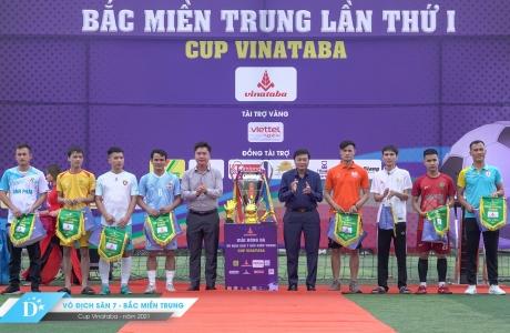 Khai màn Giải bóng đá Vô địch sân 7 Bắc Miền Trung – Cup Vinataba 2021