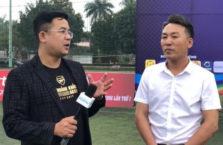 Công tác chuẩn bị khai mạc Giải bóng đá vô địch sân 7 Bắc Miền Trung 2021