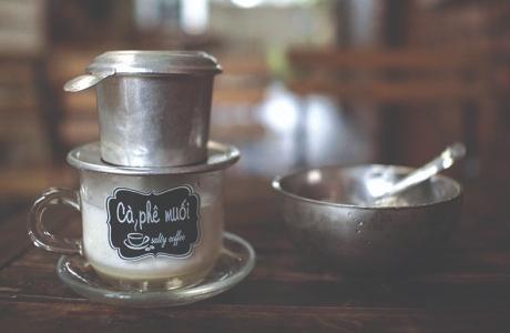 Cà phê... muối