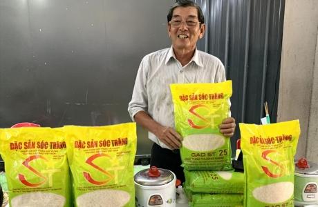 Hỗ trợ doanh nghiệp đăng ký bảo hộ thương hiệu gạo ST25