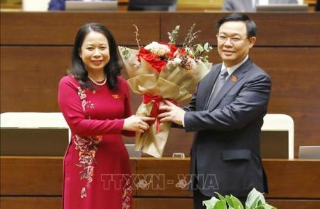 Quốc hội bầu bà Võ Thị Ánh Xuân giữ chức Phó Chủ tịch nước