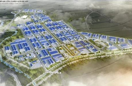 Dự án hạ tầng kỹ thuật KCN sạch Sóc Sơn quy mô gần 303 ha