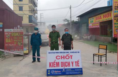 Bắc Giang đang kiểm soát tốt tình hình dịch bệnh