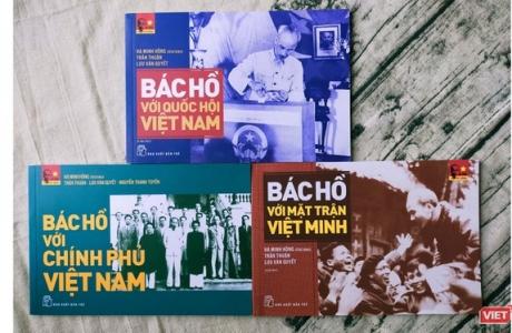 3 cuốn sách ra đời trong ngày sinh của Chủ tịch Hồ Chí Minh