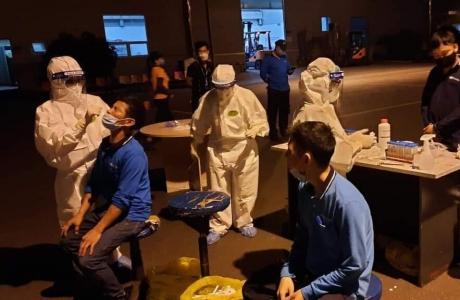 Việt Yên - Bắc Giang: Thức trắng đêm thần tốc, truy vết các ca nhiễm Covid - 19