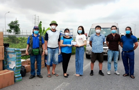 Bắc Giang - Những người con xa quê ủng hộ 75.000.000 đồng cho công tác phòng, chống dịch Covid - 19 ở huyện Việt Yên