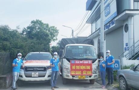 ZILA VIETNAM: Hành trình cùng Bắc Giang, Bắc Ninh chiến thắng dịch bệnh