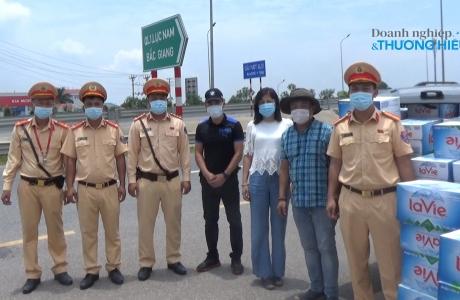 Tạp chí Doanh nghiệp và Thương hiệu đồng hành cùng Bắc Giang chống dịch COVID-19