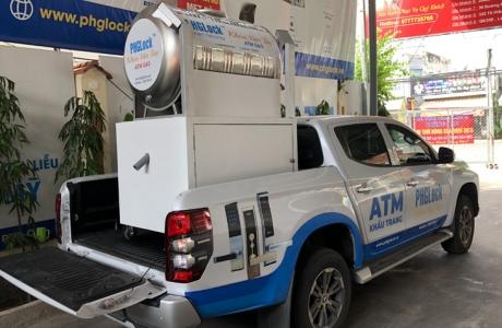 'ATM gạo' tái hoạt động hỗ trợ người dân trong khu cách ly ở TP.HCM