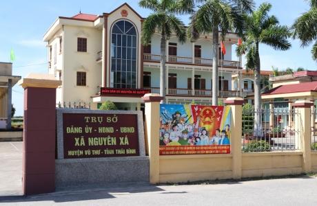 Xã Nguyên Xá – điểm sáng xây dựng Nông thôn mới của tỉnh Thái Bình