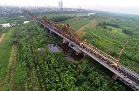 Xây cầu đường sắt vượt sông Hồng: Cần tính đến bài toán bảo tồn di sản