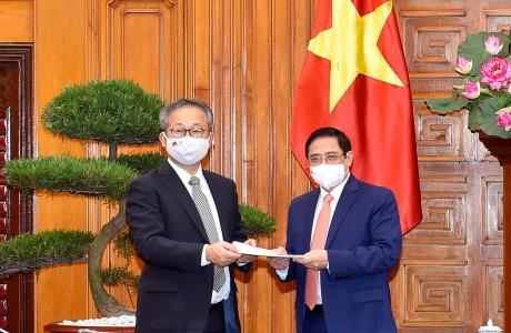 Nhật Bản hỗ trợ Việt Nam 1 triệu liều vaccine phòng chống COVID-19