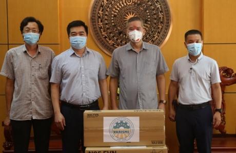 Hiệp hội VARISME trao tặng khẩu trang y tế N95 đến Viện Sốt rét – Ký sinh trùng – Côn trùng Trung ương