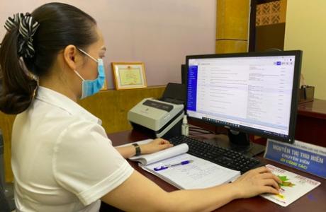 Công ty Điện lực Hà Tĩnh khai thác ứng dụng hệ thống quản lý văn phòng trên nền tảng số