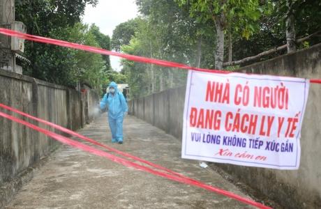 Hai vợ chồng ở Hà Tĩnh dương tính SARS-CoV-2
