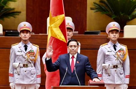 Toàn văn phát biểu trong lễ nhậm chức của Thủ tướng Chính phủ Phạm Minh Chính