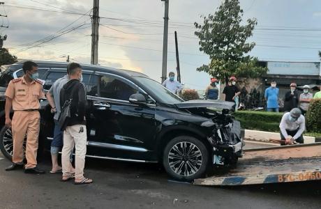 Pleiku: Triệu tập nhóm đối tượng tông xe, nổ súng vào chiều 17/8