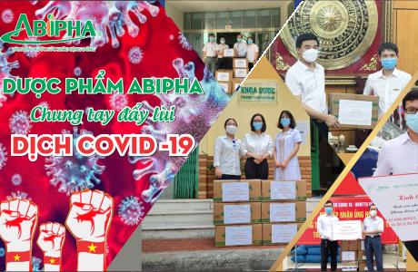 Dược phẩm Abipha tiếp sức cho Đại học Dược Hà Nội vào Nam chống dịch