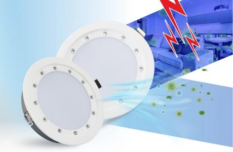 Đèn LED Âm trần Downlight UV 135/14W - Đèn LED diệt khuẩn của Rạng Đông