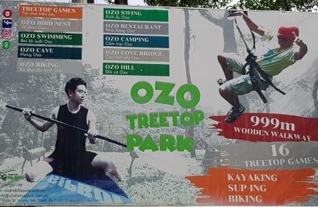 Những hành vi vi phạm nghiêm trọng từ Công viên Ozo Quảng Bình