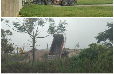Hà Nam: Nghi vấn Công ty TNHH Nittoku Việt Nam đổ hàng trăm tấn chất thải chưa qua xử lý ra môi trường