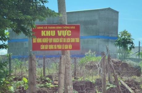 Trảng Bom (Đồng Nai): Ngang nhiên xây dựng trái phép trên đất nông nghiệp