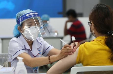 Số liều tiêm vaccine phòng Covid - 19 vượt mốc 8 triệu