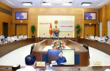 Chủ tịch Quốc hội chủ trì phiên họp về chiến lược xây dựng và hoàn thiện Nhà nước pháp quyền
