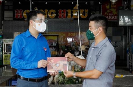 Trung ương Đoàn TNCS Hồ Chí Minh hỗ trợ khó khăn cho các hộ kinh doanh nhỏ tại Thành phố Hồ Chí Minh