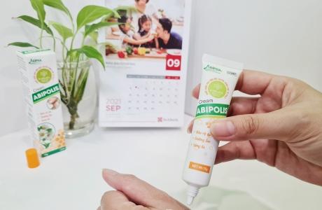 Kem bôi keo ong ABIPOLIS – dưỡng da, cải thiện làn da tổn thương