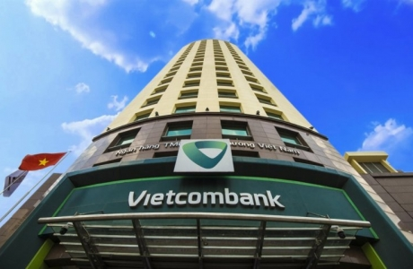 Giá trị thương hiệu Vietcombank đứng đầu trong Top 25 thương hiệu tài chính
