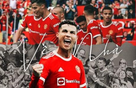 Cristiano Ronaldo rực sáng ngày 'Về nhà'