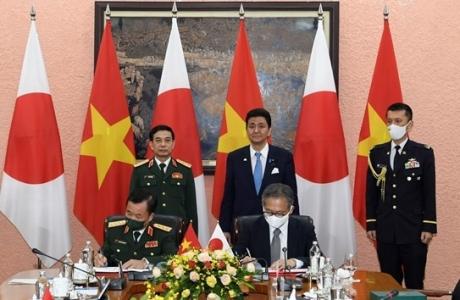 Hợp tác quốc phòng Việt Nam - Nhật Bản bước vào giai đoạn phát triển mới
