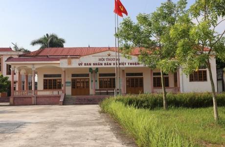 Việt Thuận – Chuyển biến từ xây dựng Nông thôn mới
