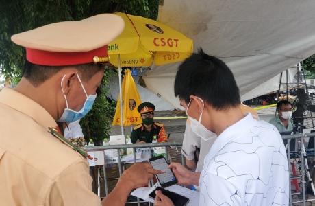 Hà Nội triển khai lắp camera quét mã QR tại 67 chốt kiểm soát phòng, chống dịch
