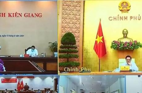 Thủ tướng chấn chỉnh công tác phòng, chống dịch tại 2 tỉnh Kiên Giang và Tiền Giang