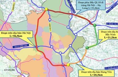 Hà Nội: Đồng ý chủ trương triển khai dự án đầu tư xây dựng tuyến đường vành đai