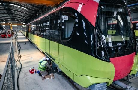 Dự án đường sắt đô thị đoạn Nhổn - ga Hà Nội sẽ chạy thử liên tiếp tất cả đoàn tàu trong tháng 12/2021