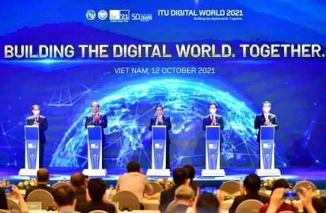 Thủ tướng Chính phủ Phạm Minh Chính dự lễ khai mạc Hội nghị và Triển lãm thế giới số 2021