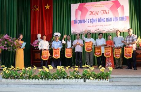 """Bắc Giang: Tổ chức hội thi Tổ Covid cộng đồng """"dân vận khéo"""" năm 2021"""
