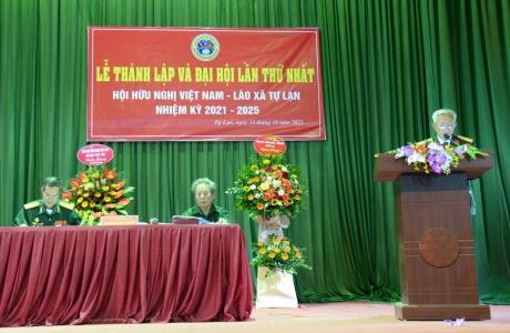 Bắc Giang: Hội Hữu nghị Việt Lào tổ chức Đại hội nhiệm kỳ 1(2021 - 2025)