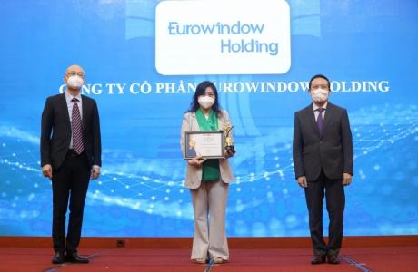 Eurowindow Holding được vinh danh TOP Thương hiệu mạnh Việt Nam