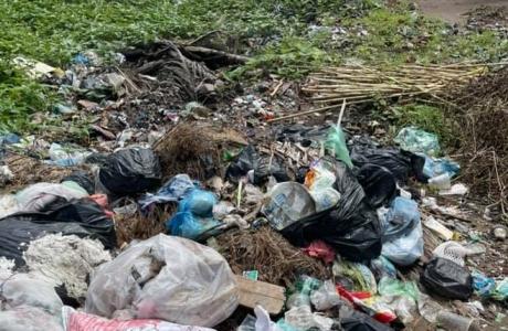 """Ninh Giang - Hải Dương: """"Hô biến"""" bãi bồi màu mỡ thành nơi chôn lấp rác thải trái phép"""
