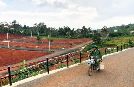Lật tẩy chiêu trò vẽ dự án ma núp bóng hiến đất làm đường ở thành phố Bảo Lộc