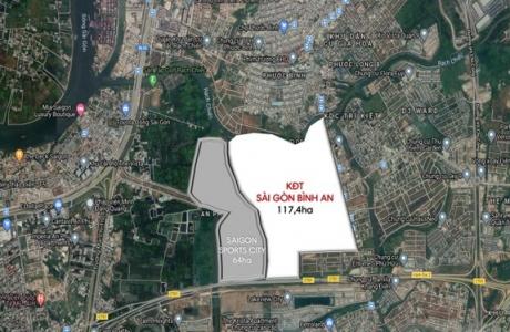 Cách 15.500 tỉ đồng cấp tập 'chảy' qua siêu dự án Sài Gòn Bình An