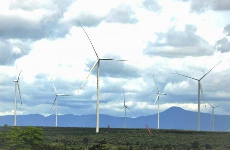 Gia Lai: Điện gió Ia Pết hòa lưới điện Quốc gia vào ngày 20/10