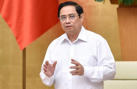 Thủ tướng Phạm Minh Chính yêu cầu tái cấu trúc doanh nghiệp gắn với chuyển đổi số