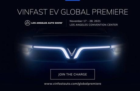 VinFast giới thiệu 2 mẫu xe điện mới tại Los Angeles Auto Show 2021