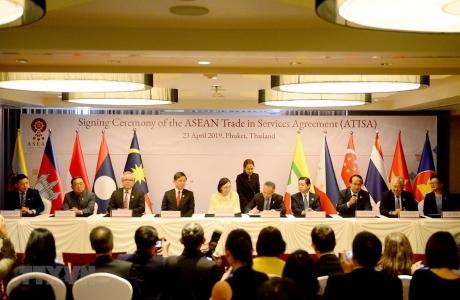 Chính phủ phê duyệt Hiệp định Thương mại Dịch vụ ASEAN